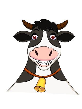 cow bells: Cow cartoon