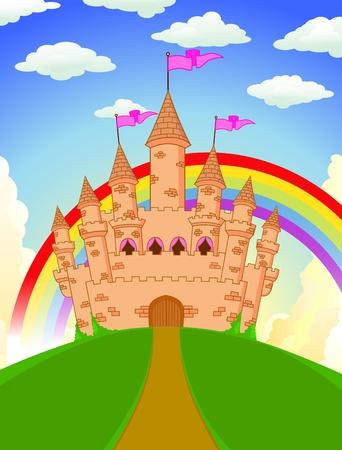 fairy castle Stock Vector - 13496488