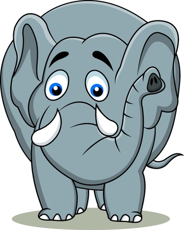 Elephant cartoon Stock Vector - 13495343