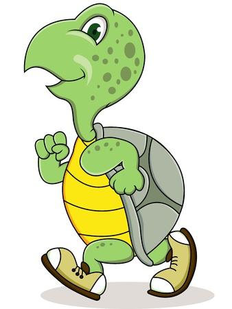 schildkröte: Turtle läuft