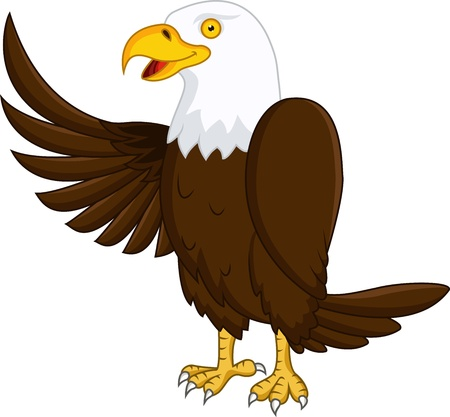 dignity: Eagle cartoon