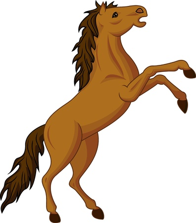 wild wild west: cavallo in piedi
