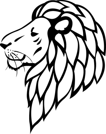 Lion tattoo Stock Vector - 13781483