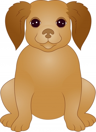 puppy cartoon: Puppy cartoon