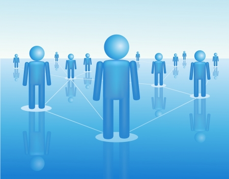 nodes: People connection
