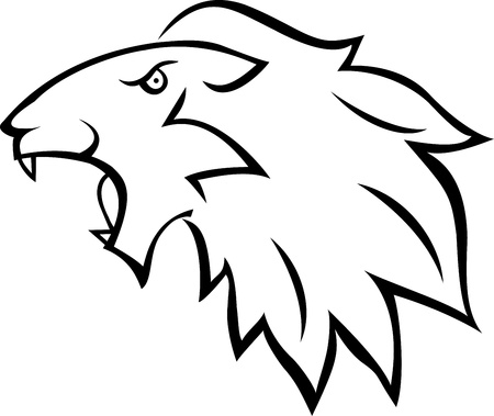 Lion tattoo  Stock Vector - 13984201