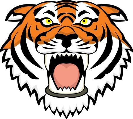 Tiger tattoo  Ilustracja