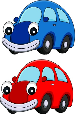 illustration of Car cartoon  Vector