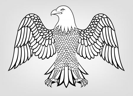 computer mascot: Illustration Of Eagle Mascot