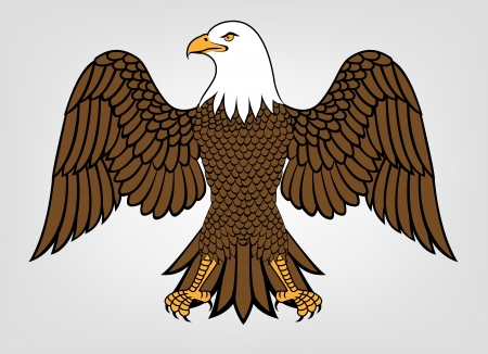 Illustration Of Eagle Mascot