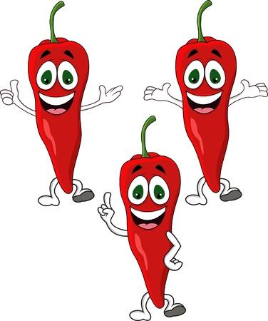 Chili cartoon character