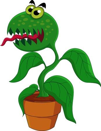 Carnivorous plant Vector