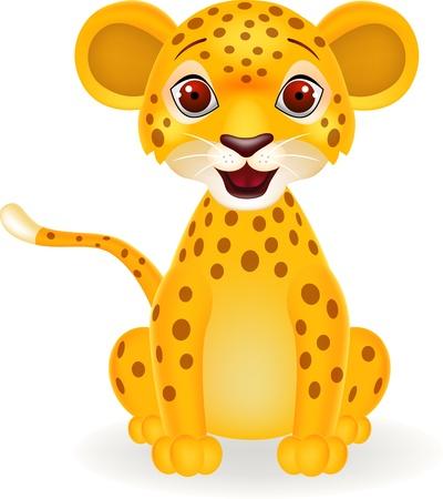 Baby leopard Stock Vector - 15234366