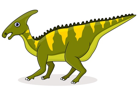 Dinosaur cartoon Stock Vector - 15234025