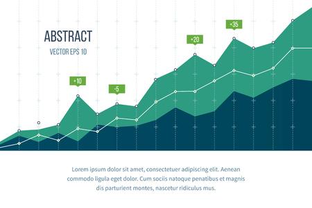investment concept: Business diagram graph chart. Investment growth. Investment business. Investment management. Financial strategy concept.