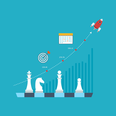 strategic management: Concept for investment, strategy planning, finance, market data analytics, strategic management. Strategy for successful business. Investment growth. Strategy business. Strategy concept.