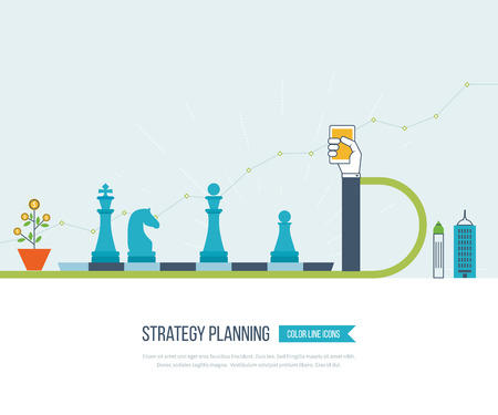 Concept for investment, strategy planning, finance, market data analytics, strategic management. Strategy for successful business. Investment growth. Strategy business. Strategy concept.