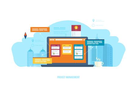 Project management, time management, setting goals, business processes, control, motivation.