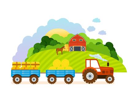 labranza: Farm and farmland, the village with gardens, greenery, harvest, grain.