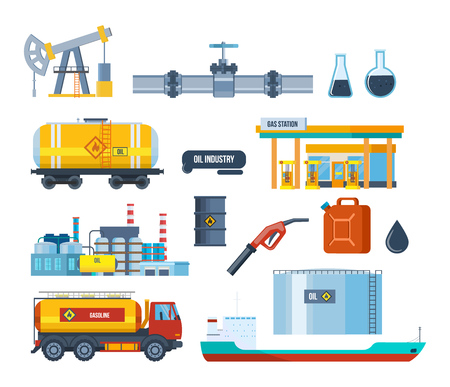 oilwell: Set of oil industry: plant, equipment for production, transportation, storage.