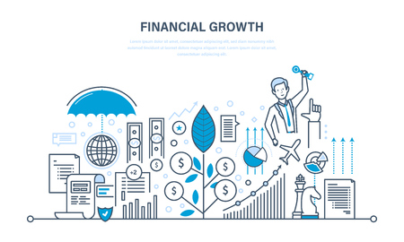 Financial growth, market research, deposits, contributions, savings, management, calculation.