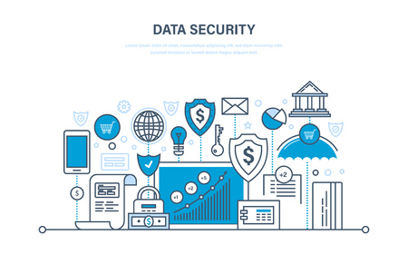 Security, data integrity, protection, security deposits, payments, guarantee integrity information.
