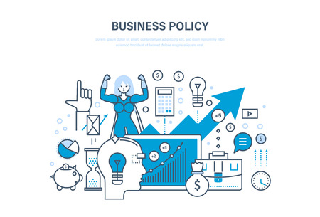 Business policy aimed at increasing sales, growth and business development.