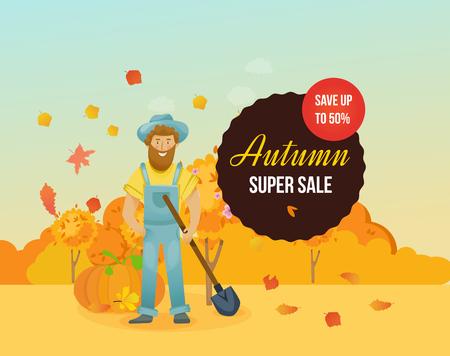 Autumn super sale design