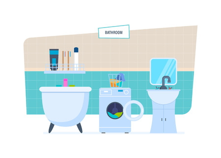 sink: Interior of bathroom, with household appliances, furniture, household items, architecture.