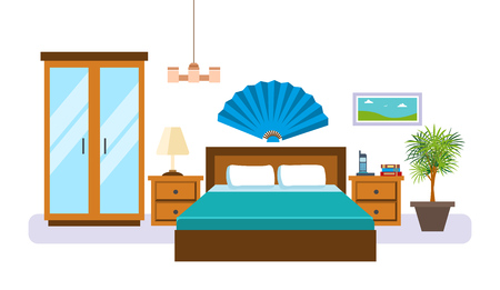 29,518 Bedroom Furniture Cliparts, Stock Vector And Royalty ...
