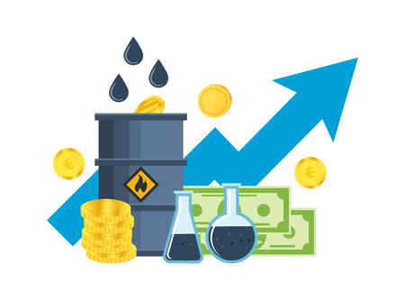 Growth, fall in prices for gasoline and oil, investments, management.