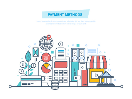 Methods and forms of payment, security of financial transactions.