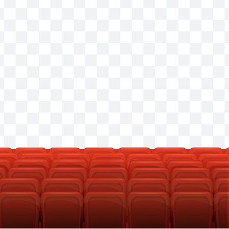 Cinema, movie time concept. Cinema or theater hall.
