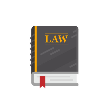 Multi-page book of laws used in court, lawyers and judges. Banco de Imagens