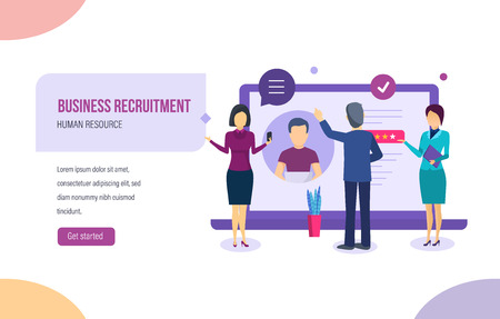 Business recruitment. Search, review of candidate s resume, interviewing, head hunting.