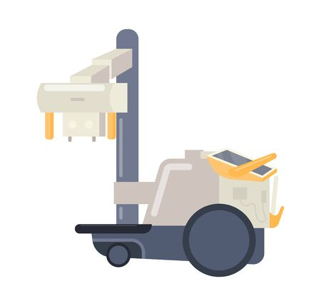 Hospital medical equipment. Medical devices mobile x-ray machin