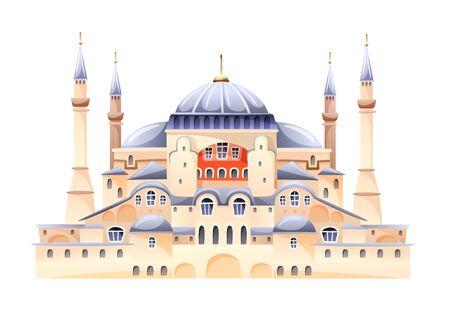 Saint Sophia Cathedral Byzantine art monument vector