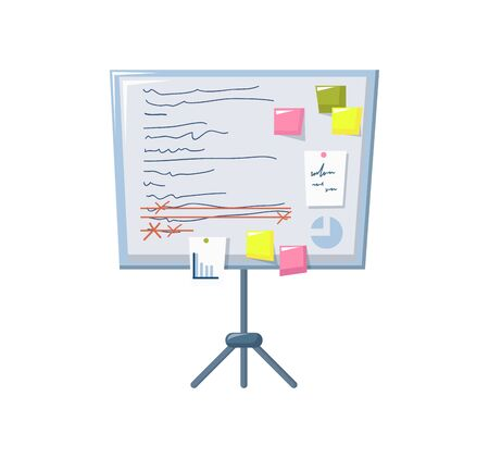 Time management planning board, business task planning. Stockfoto - 134628911