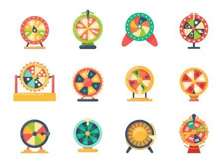 Roulette wheel fortune gaming, jewelry, with bonuses horoscope money set