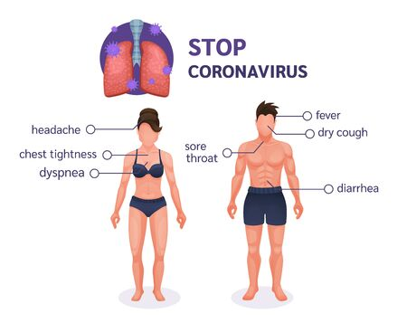 Coronavirus. Coronavirus pandemic COVID-19 vector Ilustración de vector