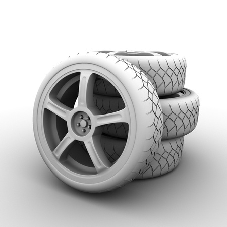 occlusion: 3d wheels occlusion