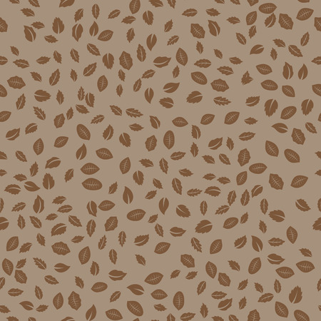 Abstract Seamless Leaves Pattern background.  photo