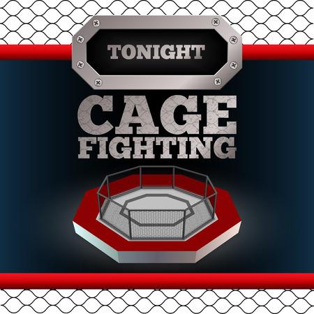 Cage Fighting illustration