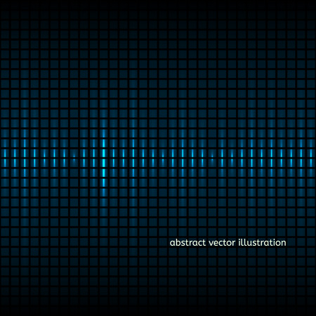 colorfuls: Abstract colorfuls squares equalizer background. Vector illustration Illustration