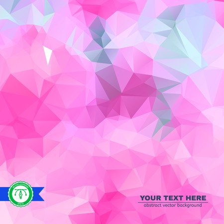 business presentation: Abstract Colorful Triangles Background for Business Presentation. Vector illustration Illustration