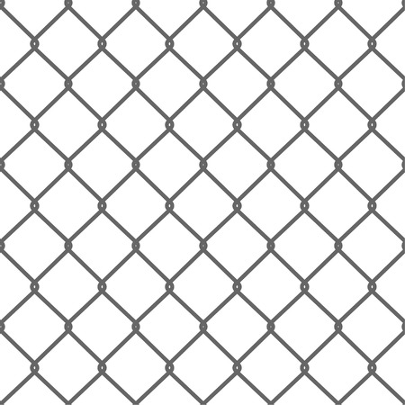 Seamless Wire Mesh. Net. Cage. Vector illustration Vettoriali