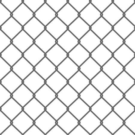 artes marciales: Sin fisuras de malla de alambre. Net. Cage. Ilustración vectorial