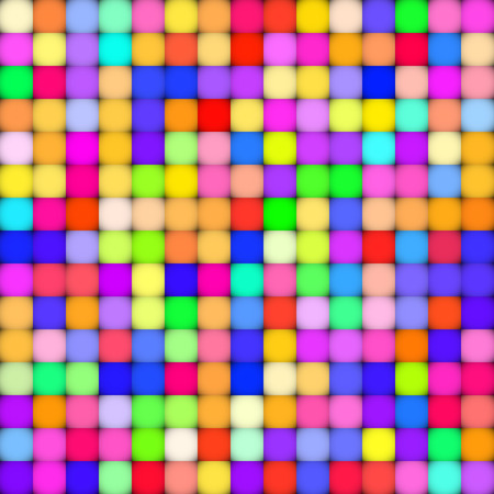 vector raster background: Abstract colorful background with squares. vector illustration