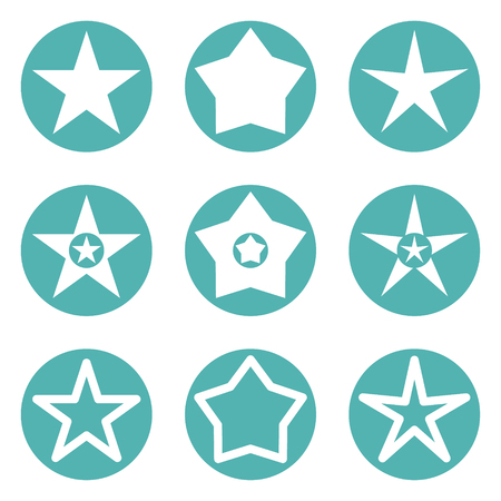 top class: Star icon vector illustration isolated on white background Illustration
