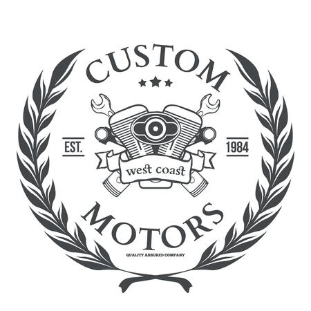 Custom motor vector t-shirt print design illustration